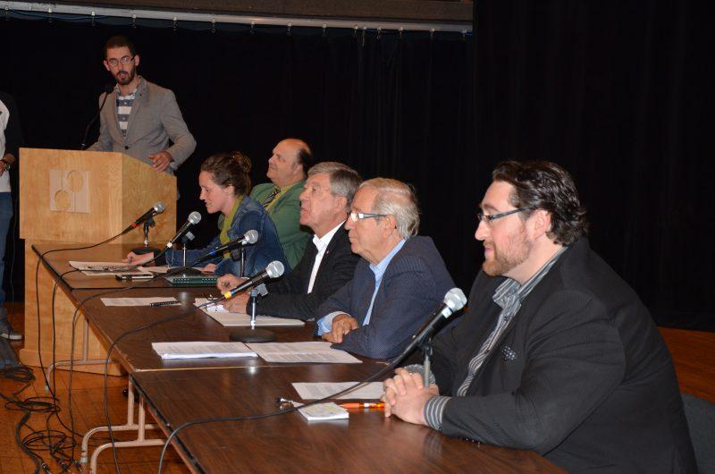 Les candidats aux élections fédérales ont répondu aux inquiétudes des étudiants.   TC Média - Sarah-Eve Charland