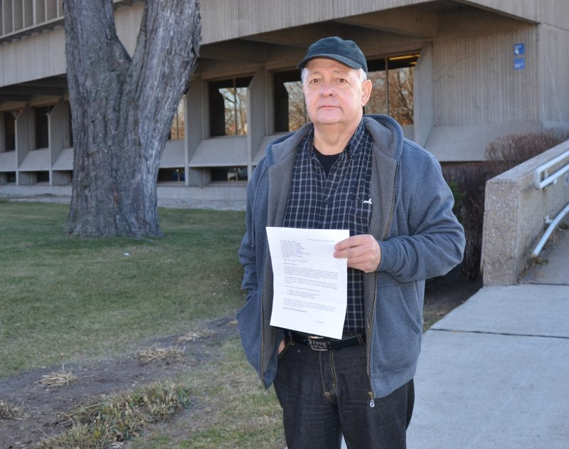 Le citoyen Guy Tessier poursuit la municipalité de Saint-François-du-Lac pour harcèlement.   TC Média - Sarah-Eve Charland