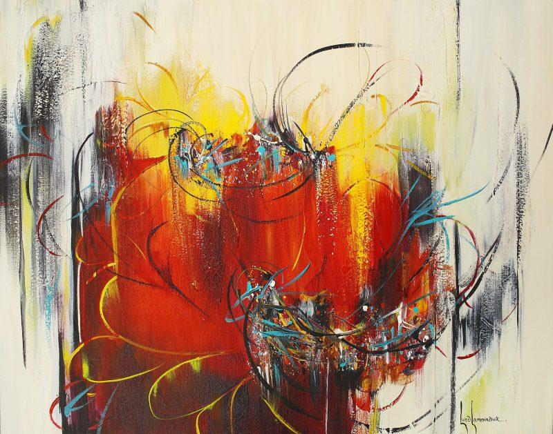 L'artiste Luce Lamoureux présentera son exposition Au fil des couleurs du 27 avril au 28 mai. | Gracieuseté