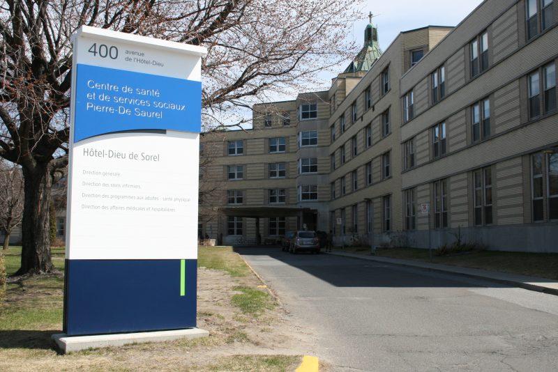 Le CISSS Montérégie-Est investira massivement à l'Hôtel-Dieu de Sorel en 2017. | TC Média - Archives