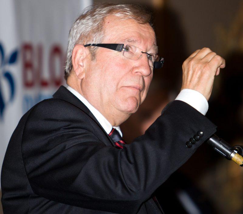 Le député Louis Plamondon n'aime pas discuter des crises internes de son parti sur la place publique. | Photo: TC Média - Pascal Cournoyer