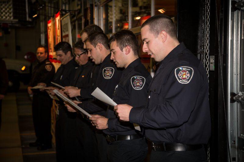 Les pompiers ont été assermentés le 5 novembre | TC Média - Pascal Cournoyer