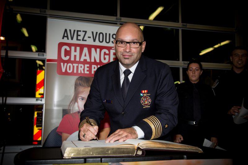 Le directeur général du Service de sécurité incendie, Carl Woods. | TC Média - Pascal Cournoyer