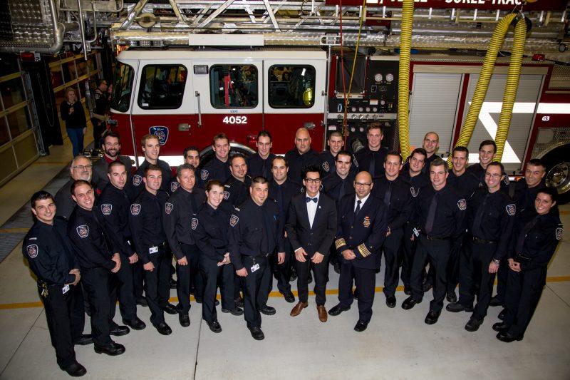 Les pompiers ont été assermentés le 5 novembre. | TC Média - Pascal Cournoyer