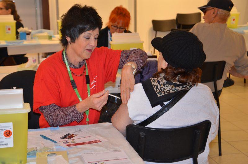 Toutes les dates de la campagne de vaccination, ainsi que les emplacements, sont disponibles sur le site Internet www.santemonteregie.qc.ca. | Gracieuseté