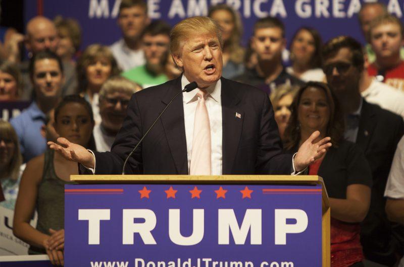 Donald Trump a été élu 45e président des États-Unis, dans la nuit du 9 novembre. | Rick.Sargeant@gmail.com