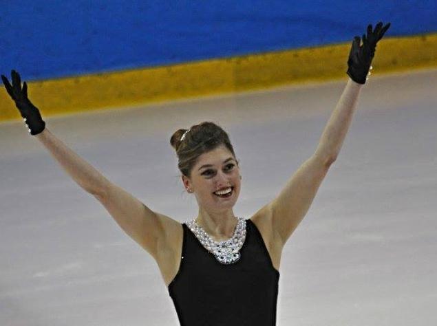 Kim DeGuise Léveillée a terminé deuxième devant plusieurs patineuses de qualité, le 6 novembre. | Photo: gracieuseté – Lise Boucher