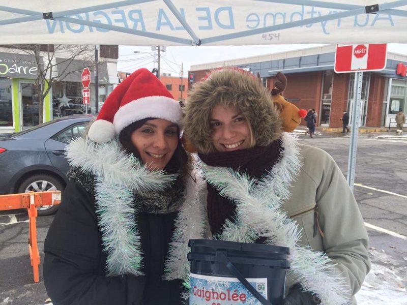 Les journalistes des 2 Rives, Julie Lambert et Sarah-Eve Charland. | Photo: TC Média – Kévin Arseneault