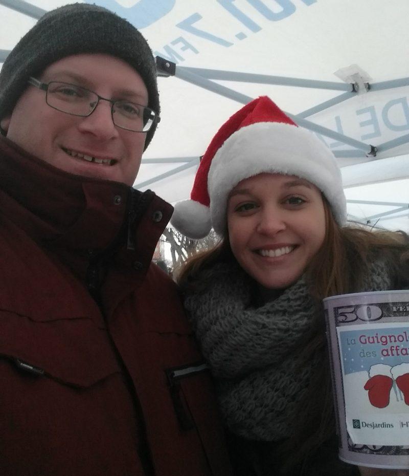 Laurie-Ève Pâquet et Sylvain Dupuis, de la Chambre de commerce de Sorel-Tracy. | Photo: gracieuseté