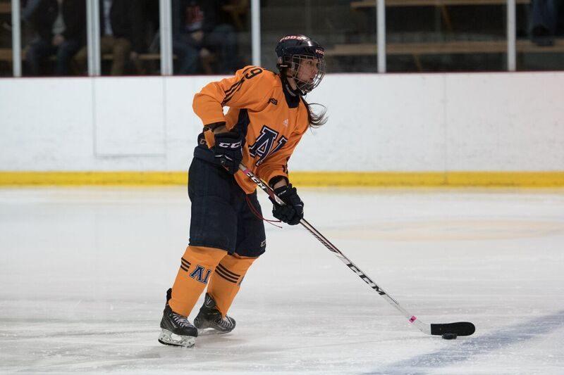 La Soreloise Audrey Lavallée est une défenseure au sein du Boomerang du Cégep André-Laurendeau | Photo: James Hajjar