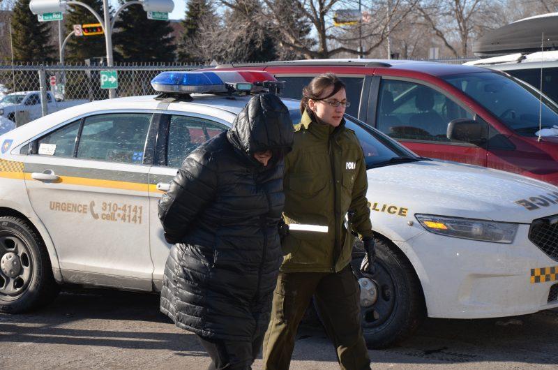Maryse Lévesque a été arrêtée le 9 février à Drummondville. | TC Média - archives