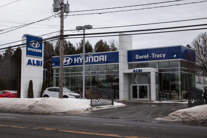 Albi Hyundai de Sorel-Tracy a été vendu à Le Prix du Gros. | Photo: TC Média – Pascal Cournoyer