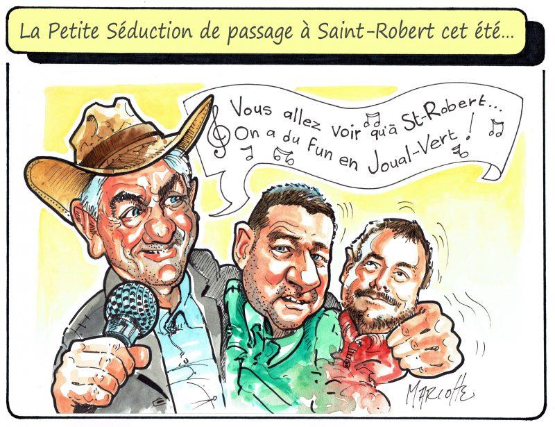 La Petite Séduction à Saint-Robert? On sait que le maire Gilles Salvas sera accueillant! | Gilles Bill Marcotte