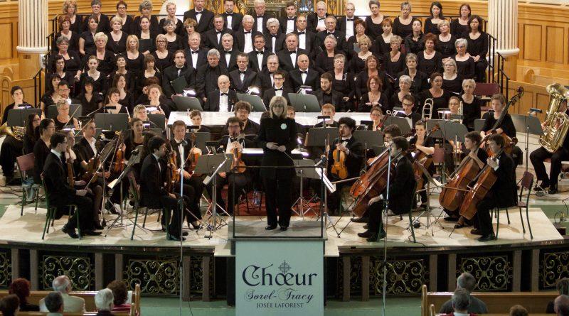 Les choristes du Chœur de Sorel-Tracy et les musiciens de l'Orchestre symphonique Classica offriront un concert varié le 29 mai prochain, à 19h, à l'église Marie-Auxiliatrice. | Copyright: parMo.ca