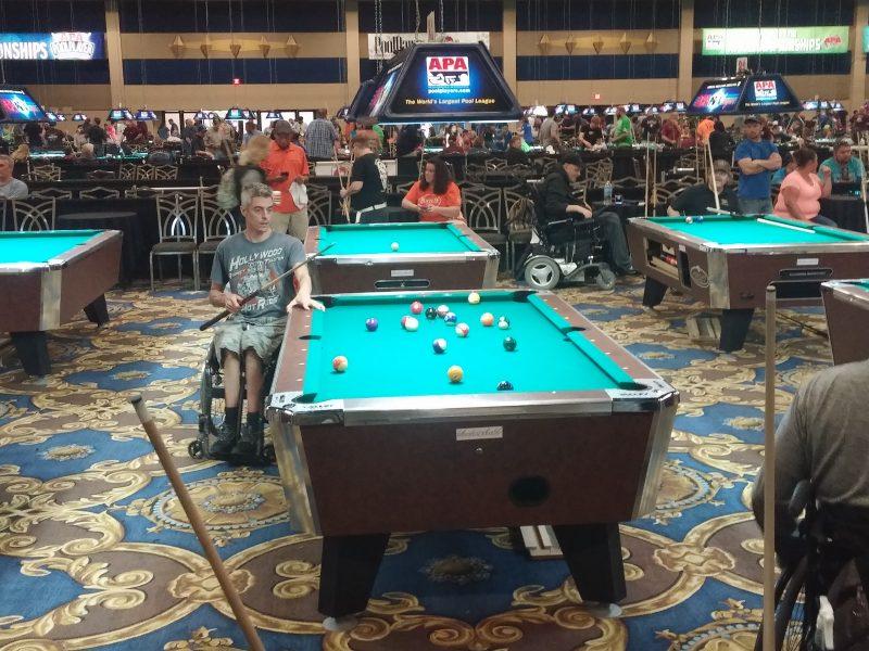 Jean Roy, en action à Las Vegas | Gracieuseté