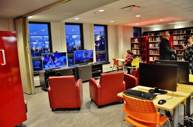 La bibliothèque Le Survenant a subi des rénovations majeures en 2015 et le montant des travaux s'est chiffré à 1,16 M$. | Photo: TC Média – Archives