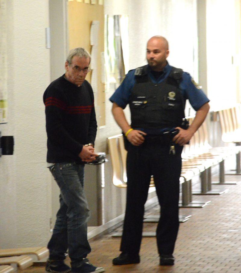 L'avocat de la défense, Luc Forcier, a présenté le dossier d'André Pépin devant la Cour d'appel.   TC Média - Jean-Philippe Morin