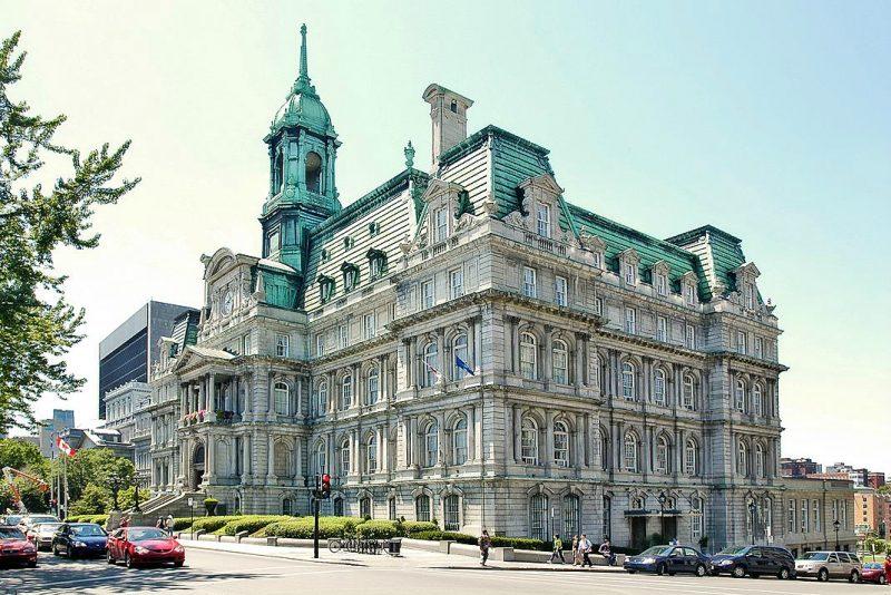 L'Hôtel de ville de Montréal en 2005. | Photo: gracieuseté/Caroline Durocher