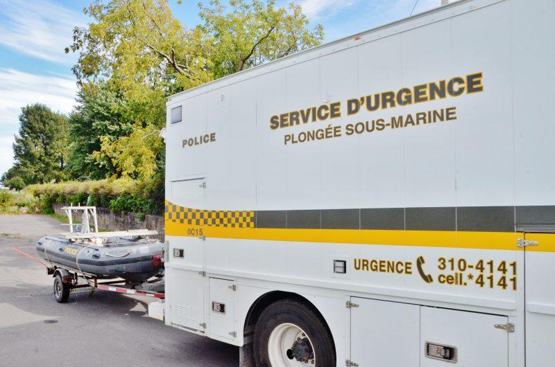 Des recherches ont eu lieu aujourd'hui à Sainte-Anne-de-Sorel et Contrecœur pour retrouver une dame portée disparue depuis le 6 septembre dernier. | Photo: TC Média - Julie Lambert