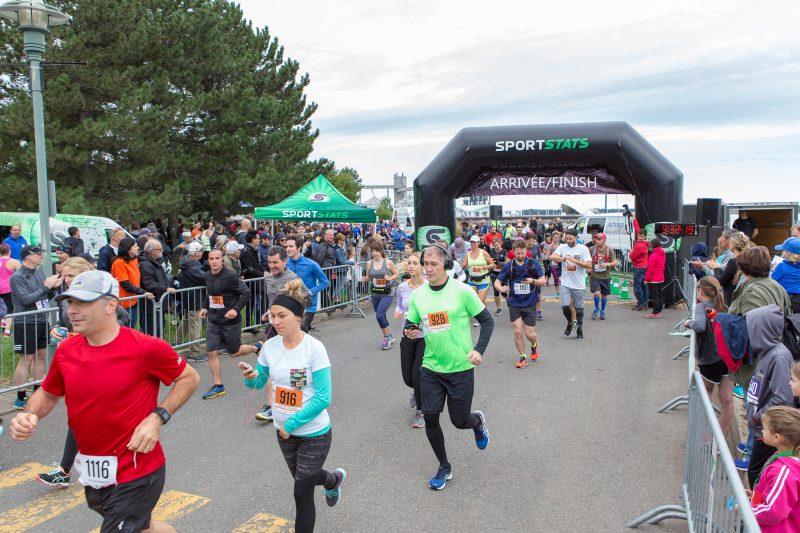La course de la Fondation Hôtel-Dieu s'est déroulée le 10 septembre. | TC Média - Pascal Gagnon