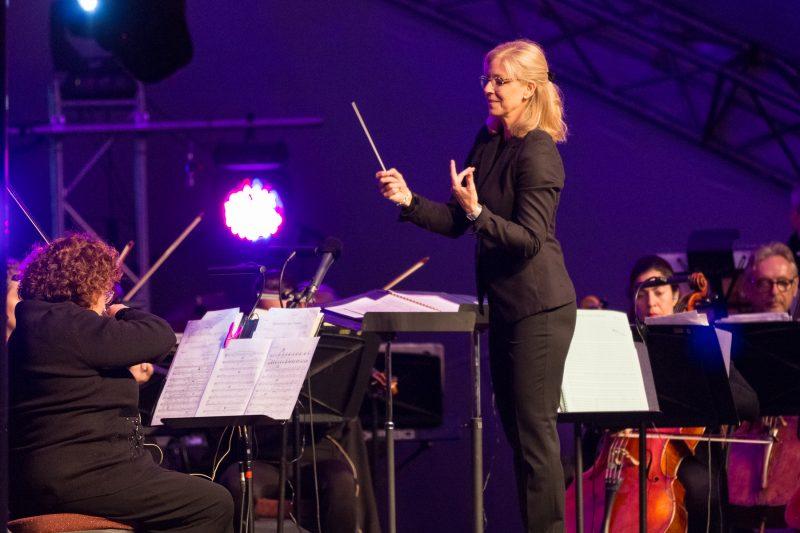 Le spectacle de clôture s'est déroulé le 10 septembre au quai Catherine-Legardeur. | TC Média - Pascal Gagnon