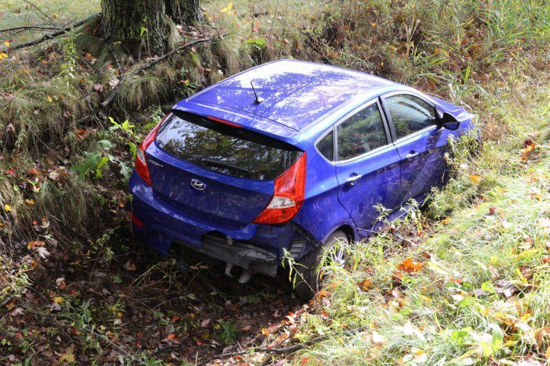 Un accident est survenu sur la rue Principale, à Saint-Roch-de-Richelieu, le 10 octobre. | TC Média - Pascal Gagnon