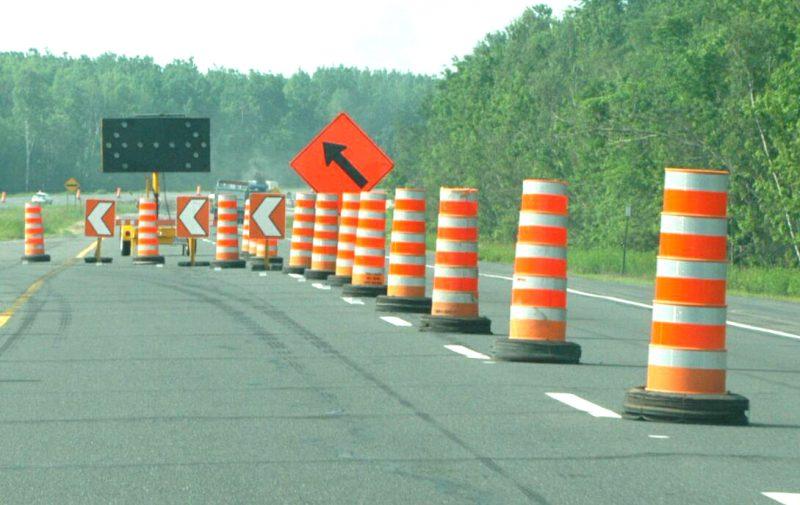 Des travaux forceront la fermeture d'une voie sur deux sur l'autoroute 30 et le boulevard des Érables le 14 décembre. | TC Média - archives