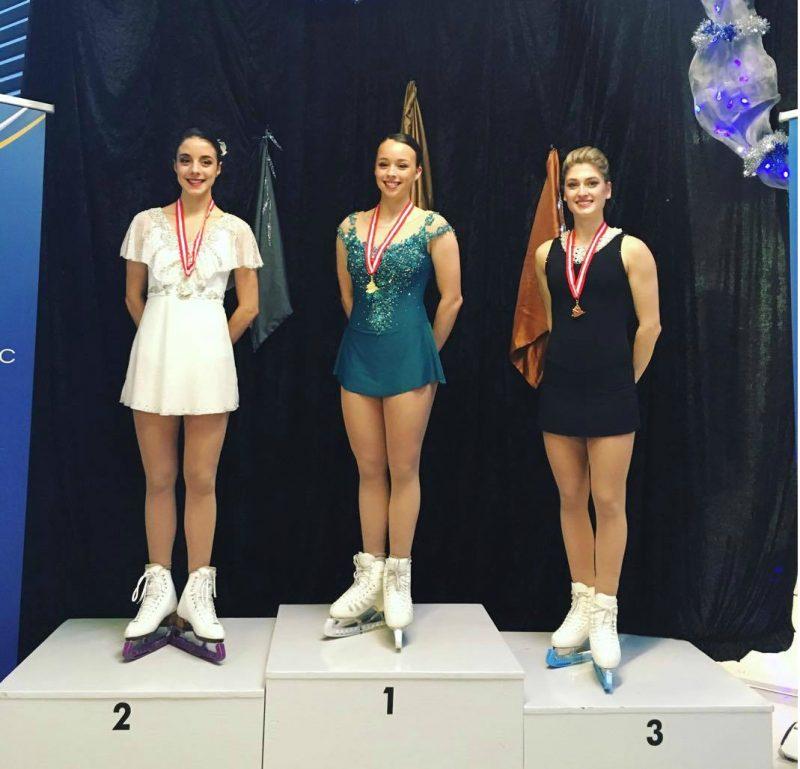 Kim DeGuise Léveillée (à droite) est montée sur la troisième marche du podium à Boucherville. |  © Photo: gracieuseté