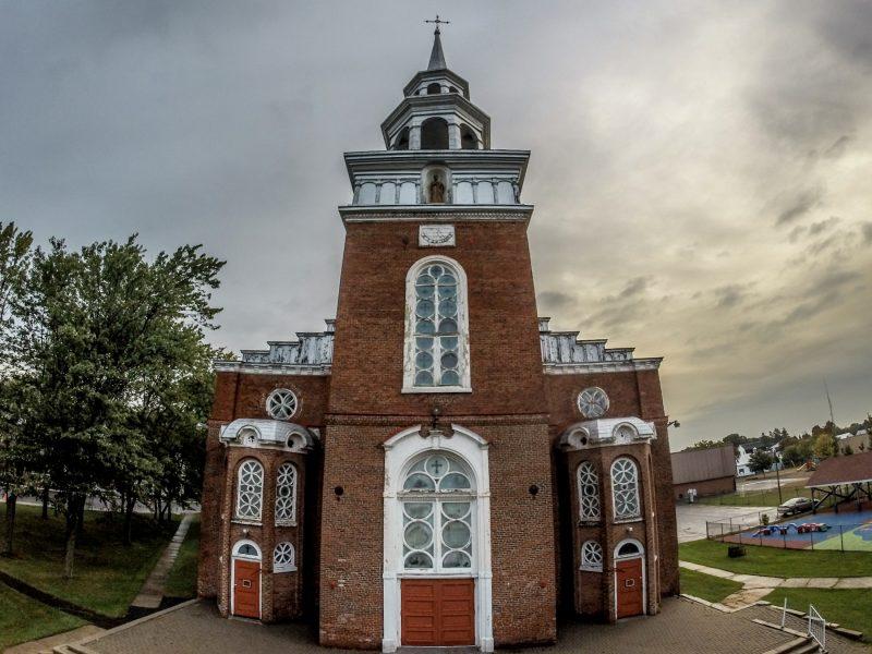 L'église Saint-Thomas à Pierreville sera démolie. | Photo: TC Média - Pascal Cournoyer