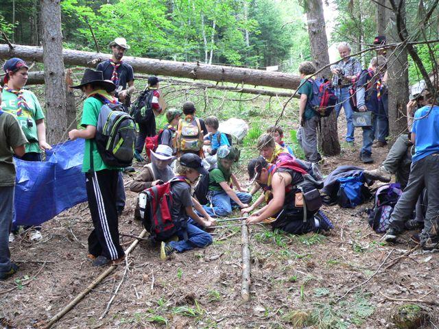 Le système de recrutement des bénévoles dans l'organisation des scouts est très rigoureux, assure le président Yvan Arseneault.   Gracieuseté