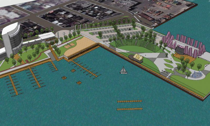 Des développements concernant le projet de l'Écomonde du lac Saint-Pierre devraient être annoncés au printemps. | Photo: Gracieuseté – Ville de Sorel-Tracy