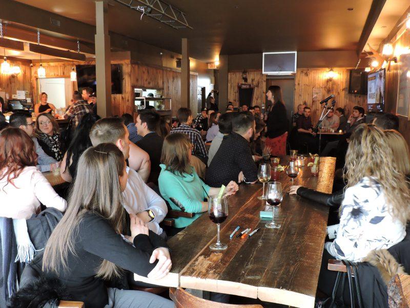 Une cinquantaine de jeunes ont assisté à une rencontre portant sur des enjeux locaux en lien avec les consultations du 2 au 4 mai. | Gracieuseté
