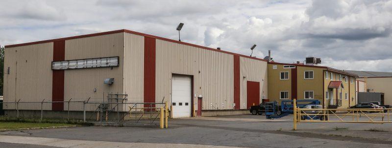Atelier d'usinage Tracy, située rue Cormier, a été vendue à Aciers Richelieu le 15 juillet dernier. | Photo:TC Média – Pascal Cournoyer