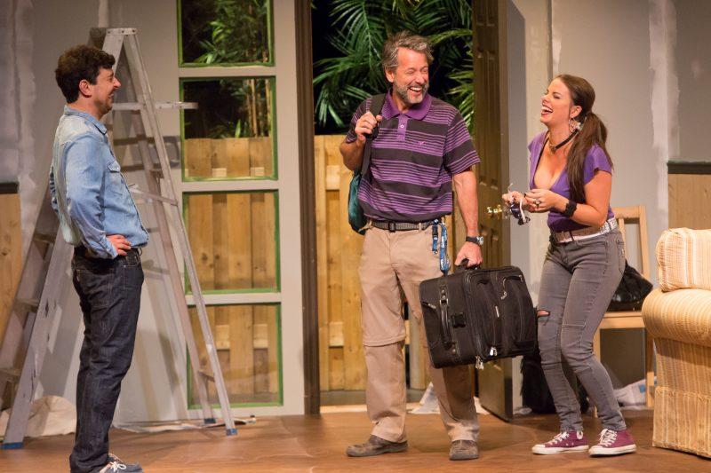 La pièce Bébé à bord! a été présentée durant tout le mois de juillet au Théâtre du Chenal-du-Moine. | TC Média - Pascal Cournoyer