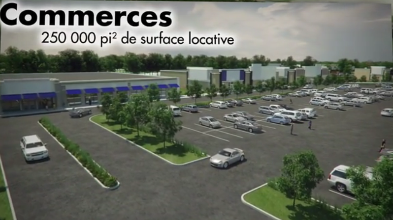 La Cité 3000 devraient être prêts à accueillir ses premiers commerces à au printemps 2018. | Tirée du site Internet
