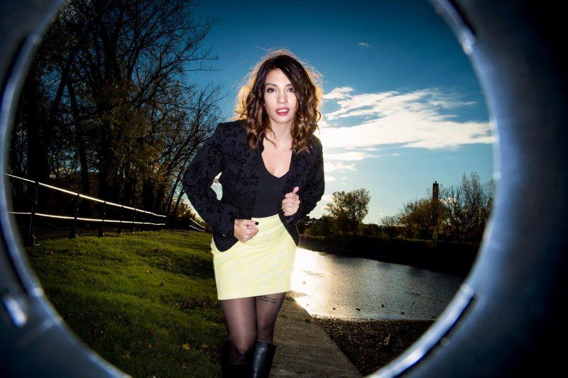 Patricia Larcher met les bouchées doubles pour démarrer sa carrière solo avec l'enregistrement d'un album. | Dominic Gouin