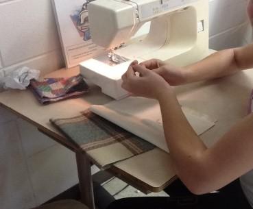 Le projet Recyclo-couture a été fait par des élèves de 5e et 6e année. | Gracieuseté