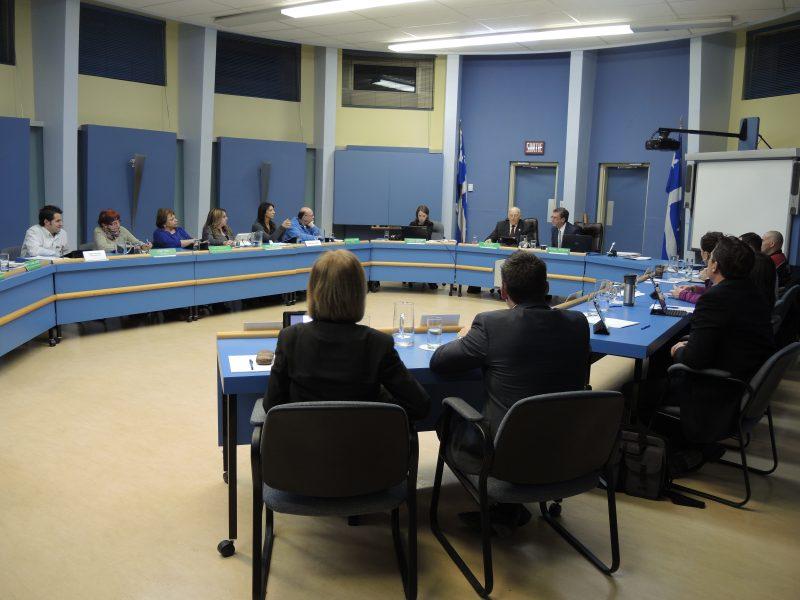 Le conseil des commissaires de la Commission scolaire de Sorel-Tracy | TC Média - Sarah-Eve Charland