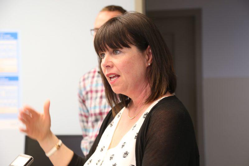 La directrice générale de la Fondation Hôtel-Dieu, Nathalie St-Germain | TC Média - Pascal Cournoyer