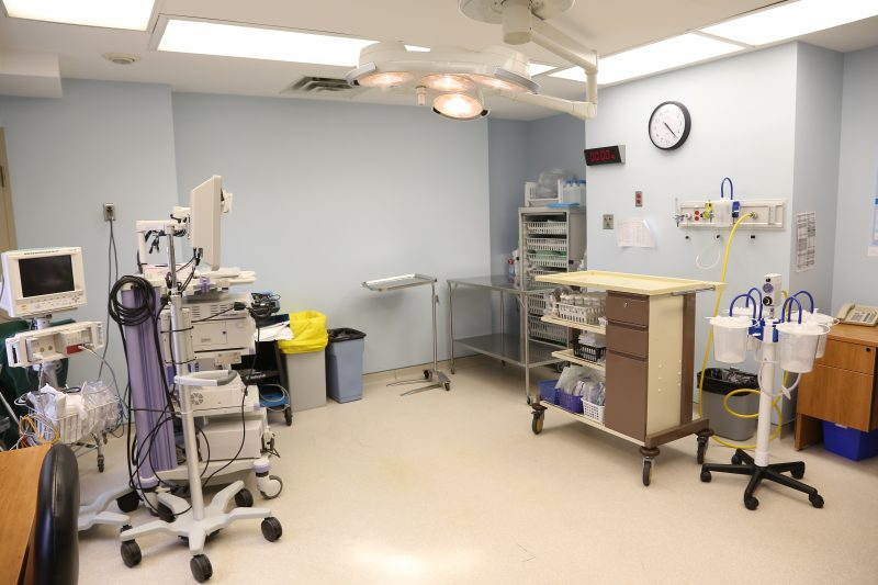 Le bronchoscope EBUS sera installé dans l'une des deux salles d'endoscopie de l'Hôtel-Dieu de Sorel. | TC Média - Pascal Cournoyer