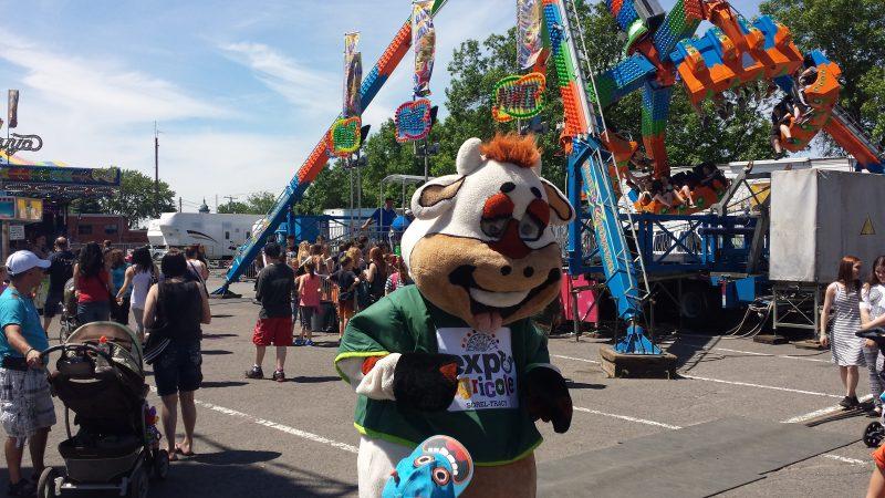 Ti-lait, la mascotte de l'Expo | Photo: Gracieuseté