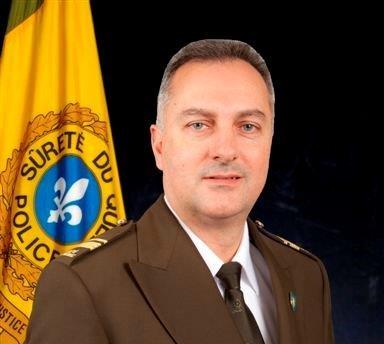 Le lieutenant Mario Gilbert est en poste à Sorel-Tracy depuis décembre. | Gracieuseté/SQ