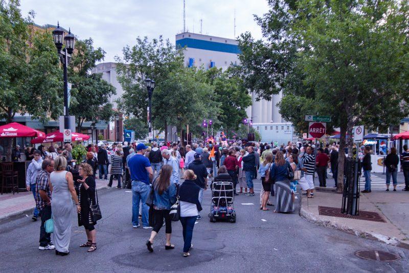 Le Festival de la gibelotte est de retour au centre-ville du 7 au 15 juillet 2017. | Photo: PG PhotoGraphePascal Gagnon