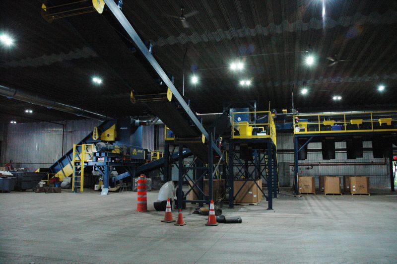 Des équipements de Recyclo-Environnement sont déjà installés et en rodage, rue Joseph-Simard. | Photo: gracieuseté
