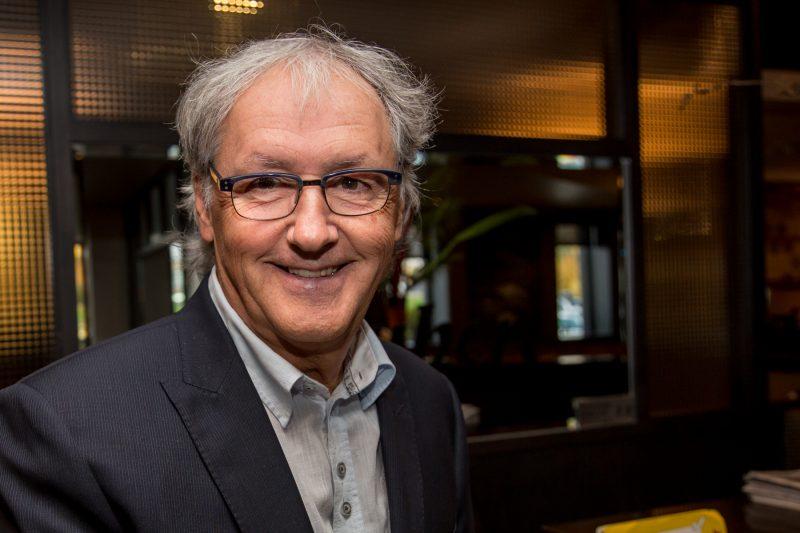 Marcel Robert, candidat à la mairie de Sorel-Tracy. | Photo: TC Média - Pascal Cournoyer