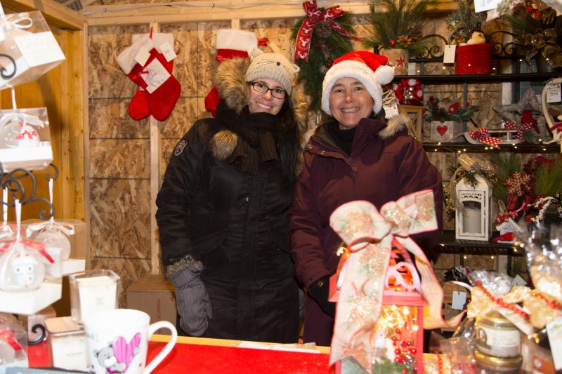 Le marché de Noël s'est déroulé du 9 au 11 décembre. | TC Média - Pascal Cournoyer