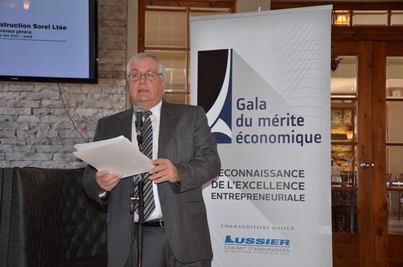 Jean-Pierre Letarte s'est impliqué dans le comité  organisateur du Gala du mérite économique pendant 25 ans. | Photo: TC Média - Julie Lambert