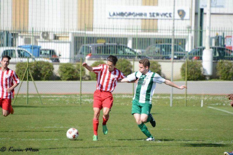 Antoine Laperle en action avec son équipe d'Europe. | Kevin Mesa