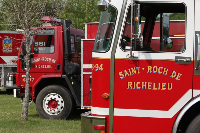 Le Service de sécurité incendie de Saint-Roch-de-Richelieu a conclu une entente de partenariat avec celui de Saint-Antoine-sur-Richelieu. | TC Média - Archives