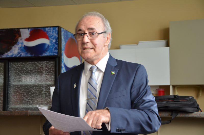 Yvon Bibeau se dit motivé pour un autre mandat de quatre ans. | Photo: TC Média – Jonathan Tremblay